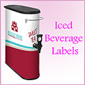 Iced Beverage Labels